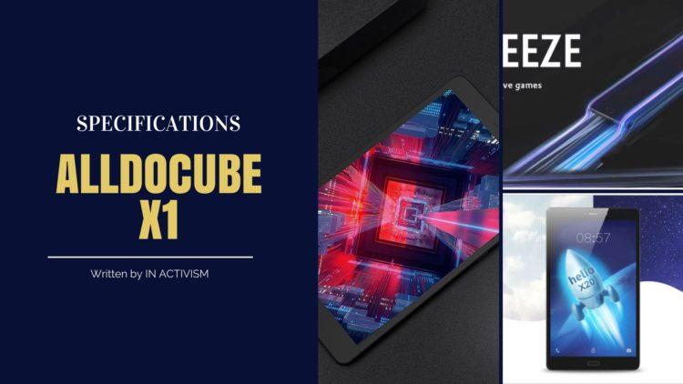 ALLDOCUBE X1 ( T801 ) スペック詳細|Helio X20搭載8.4インチ2.5Kディスプレイハイスペックタブレット