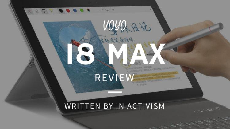 VOYO i8 Max 実機レビュー・評価・感想 実用性と遊び心が詰まった2イン1スタイルお絵かき液タブ