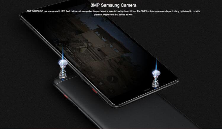 フラッシュ付きSamsung製カメラ
