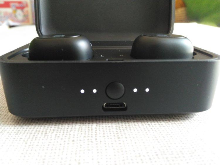 SoundPEATS(サウンドピーツ) Q32 Bluetooth イヤホンバッテリー残量