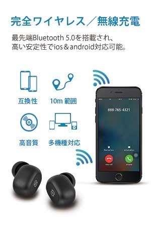 SoundPEATS Q32 Bluetooth イヤホン製品特徴・概要(完全ワイヤレス化/無線充電)