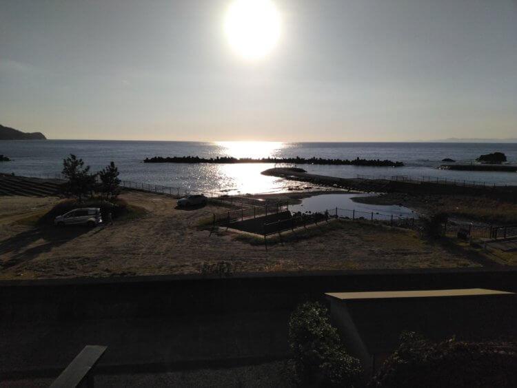 西伊豆小土肥温泉 茜色の海 あるじ栖(あるじす)からの眺め