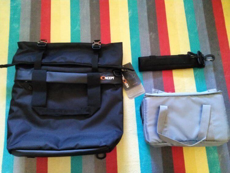 Large Shoulder Messenger Bag for DSLR Camera Photographyパッケージ内容