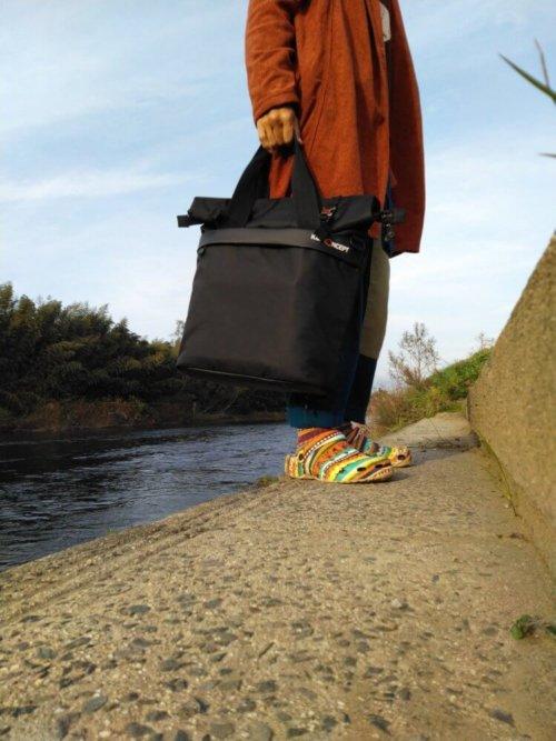 Large Shoulder Messenger Bag for DSLR Camera Photography トートバッグイメージ