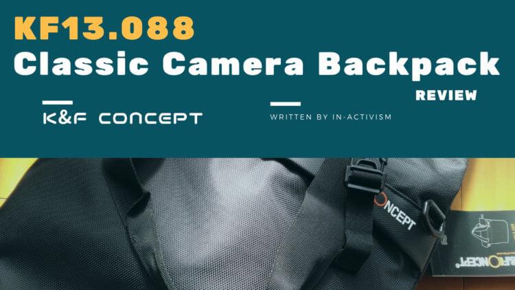 K&F Concept DSLRカメラ用メッセンジャーバッグ レビュー・評価・感想|3wayで使える多機能大容量バッグ