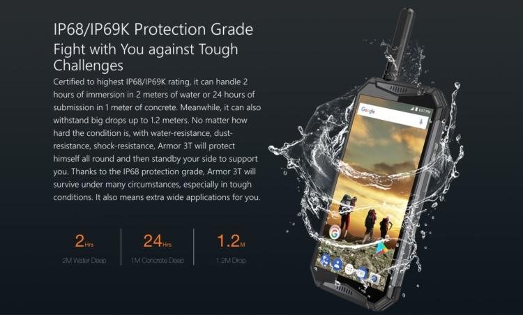 最高保護等級IP68 / IP69K取得