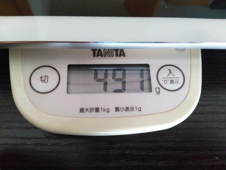 ALLDOCUBE X重量