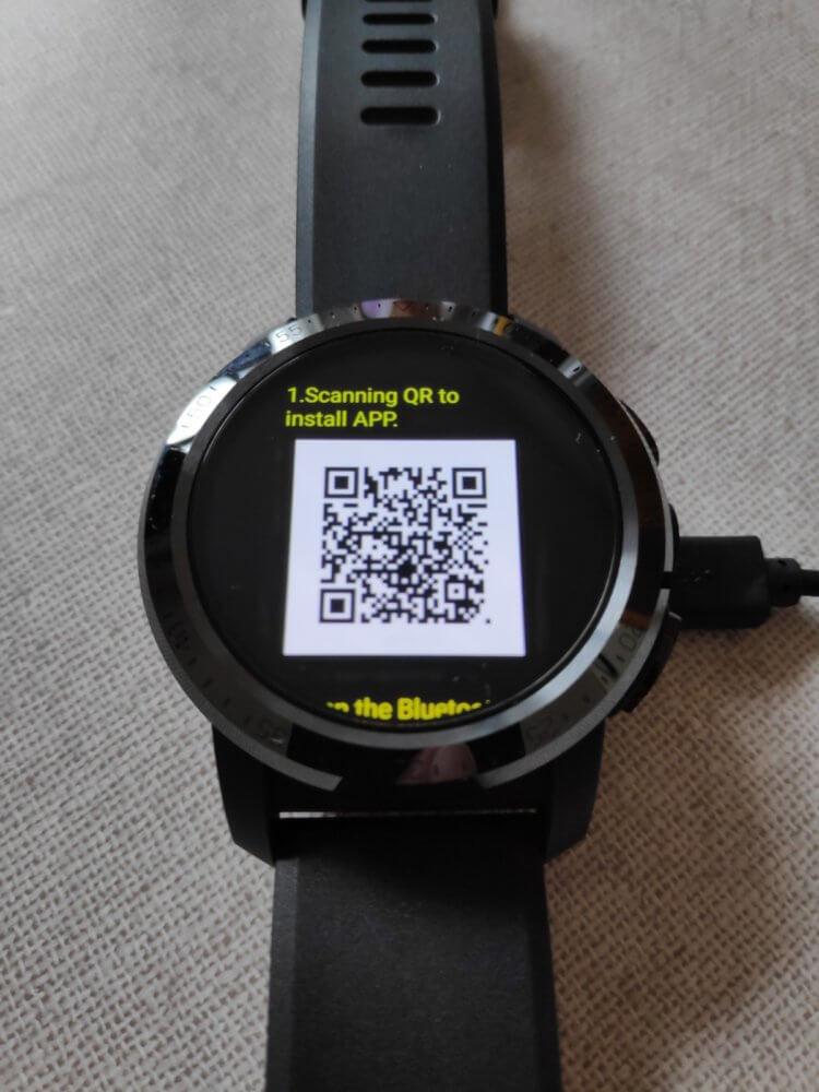 Kospet Optimus Pro QRコード