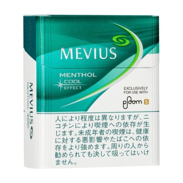MEVIUS MENTHOL COOL EFFECT for Ploom S メビウス・メンソール・クールエフェクト・フォー・プルーム・エス 外観