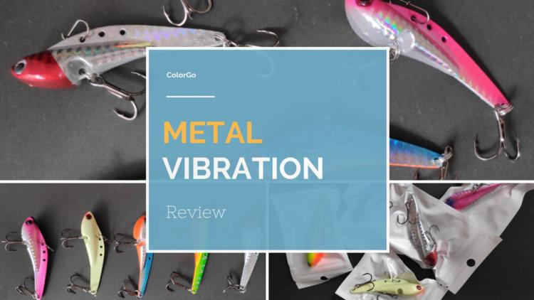 ColorGo メタルバイブレーション レビュー|広範囲を探れるコスパ抜群の全層対応鉄板バイブ