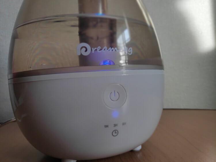 Dreamegg しずく型加湿器DG001 使用感