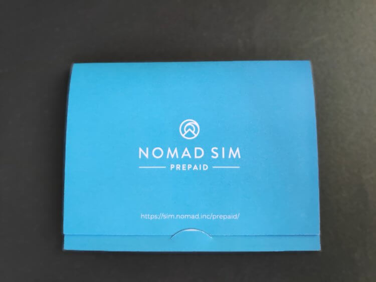 Nomad SIM Prepaid ノマドシムプリペイド 製品の特徴・概要