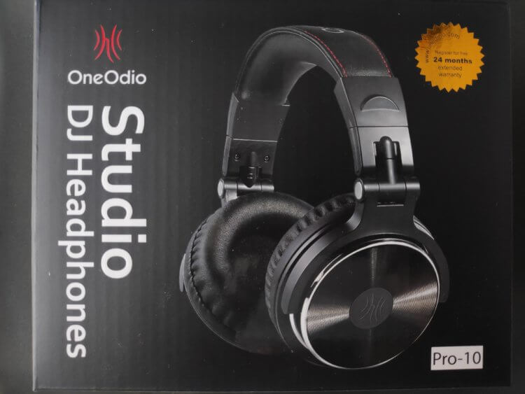 OneOdio DJ モニターヘッドホン Pro-10 化粧箱・パッケージ