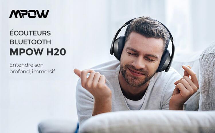 Mpow H20 ワイヤレスヘッドホン インプレッション