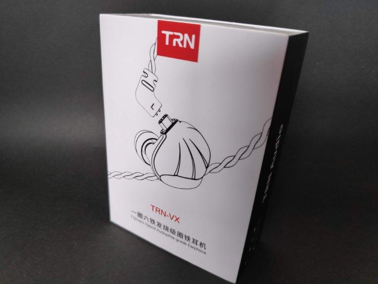TRN VX 1DD+6BA ハイブリッドイヤホン 実機レビュー・評価・感想