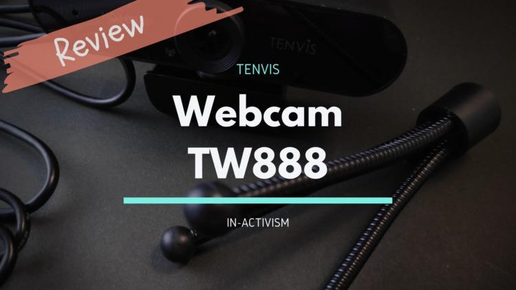 TENVIS USB WEBカメラ TW888 レビュー フルHD対応110°広角エントリー用ウェブカメラ
