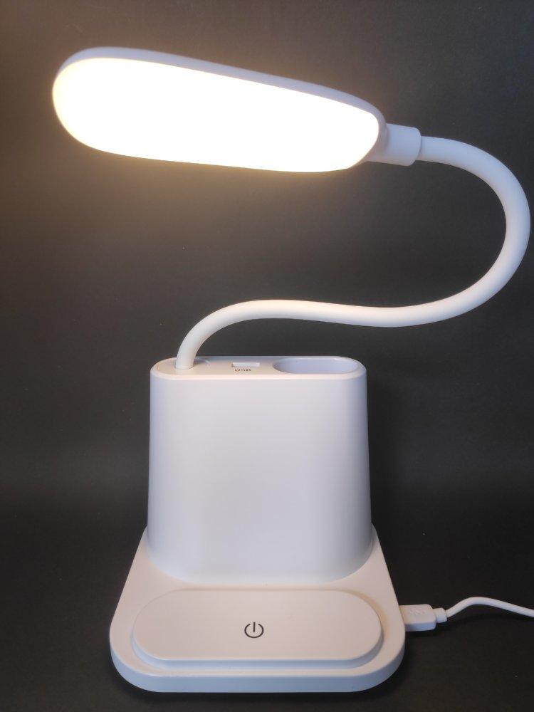 LITOM LEDデスクライト TH-01 ウォームトライト点灯時