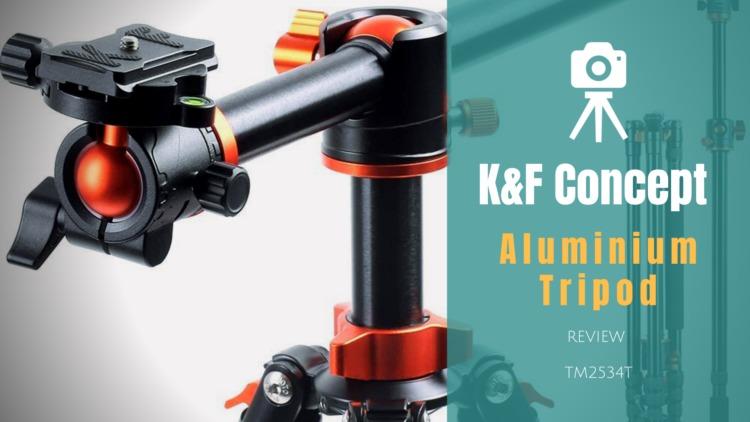 K&F Concept SA254T1 カメラ三脚 レビュー|俯瞰・あおり構図、高所撮影、一脚切替可能なマルチ三脚