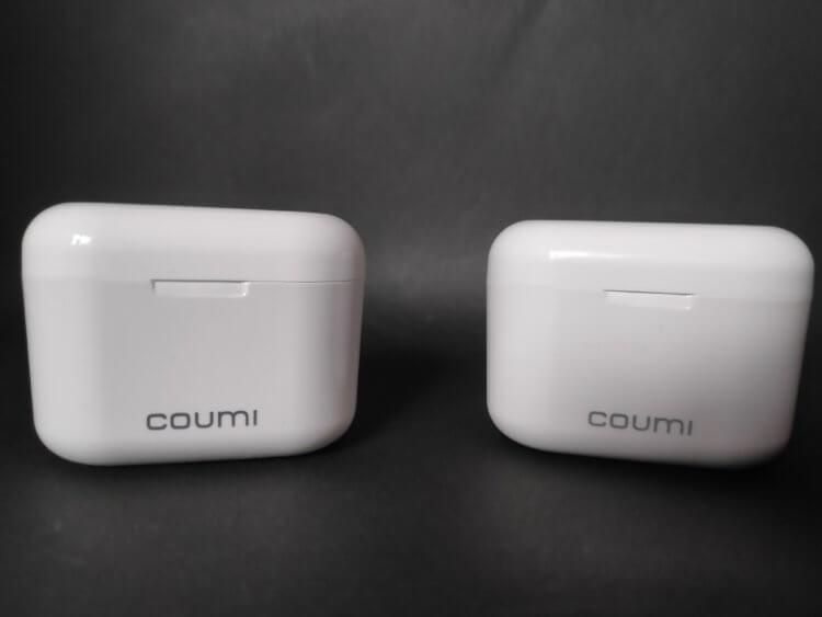 COUMI TWS-817A 旧モデルとアップグレード版との比較
