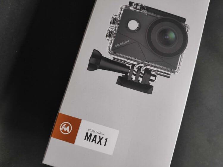 MUSON(ムソン) MAX1 アクションカメラ 実機レビュー・評価・感想
