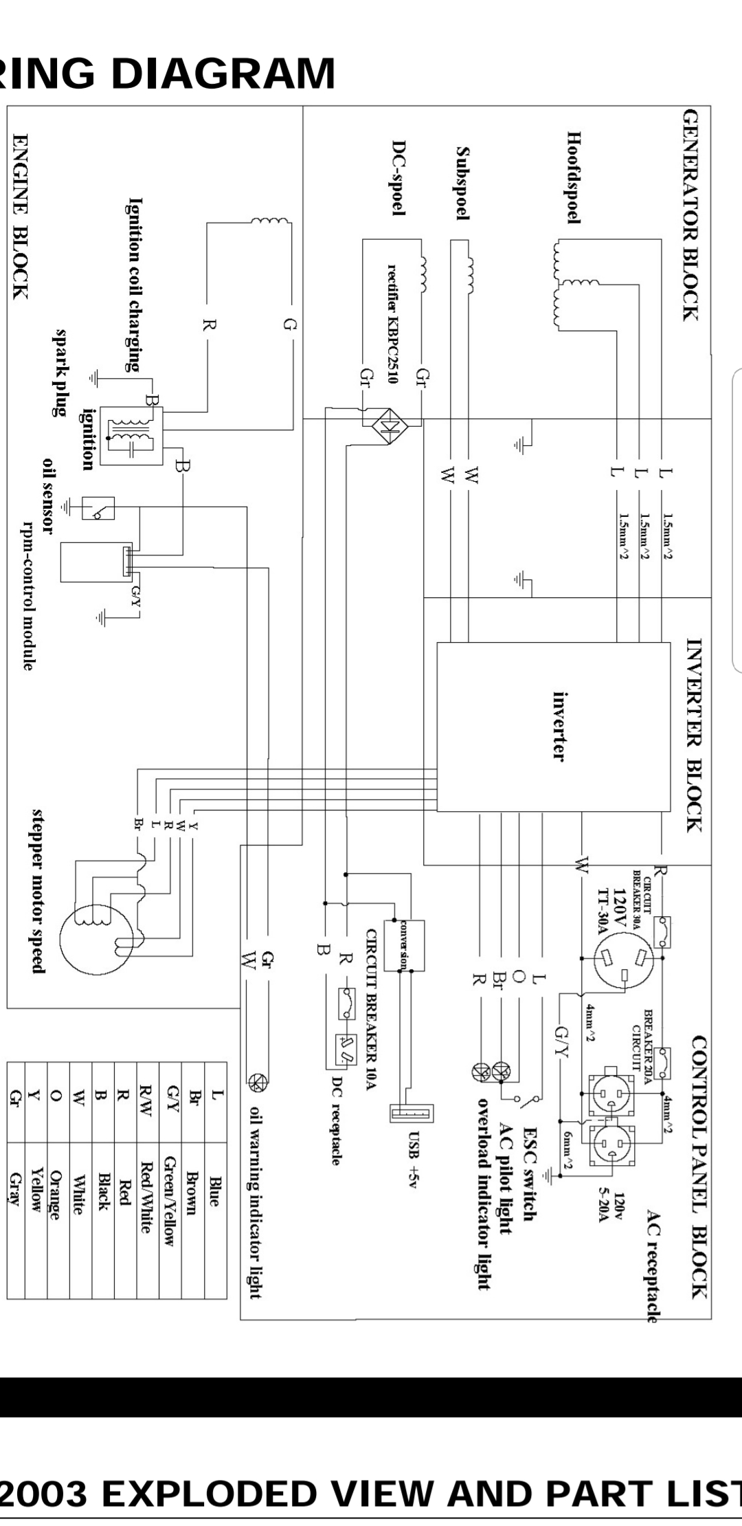 Re Wiring My Inverter Generator Help