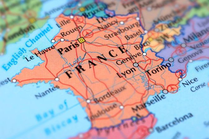 geografia francia