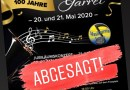 Kreismusikfest in Garrel abgesagt