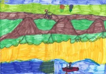 Tobia's masterpiece: Gui is allowed to go by canoe, Martina has to cross the mountains...