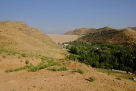 Behind this Dam is Tadjikistan