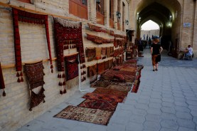 One of Bukhara's many Bazars