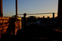Sunset at the Roof Top