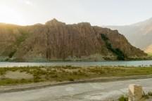 Afghan Rock-hewn Road
