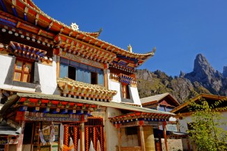 High Altitude Monastery