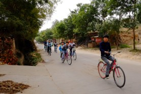 Last Rare Chinese Cyclists