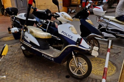 Racing Police Scooter