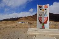 Tajikistan-Kyrgystan Handshake Monument