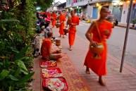 Alms Procession