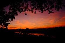Sunset at Phu Si