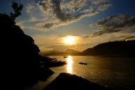 Sunset at the Mekong