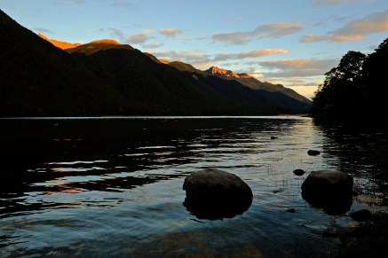 Mavora Lake at Dawn