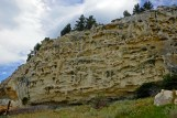 Rugged Limestone Cliffs