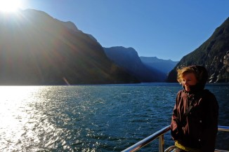 Strong Wind at the Mouth of Milford Sound