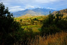 View on the Remarkables Mountain Range
