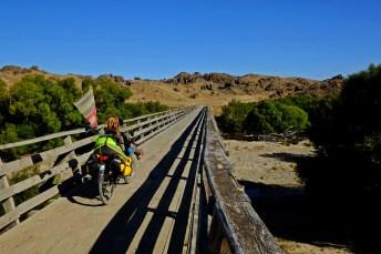 Wooden Rail Brigde
