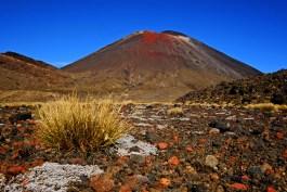 Towering Mt Ngauruhoe