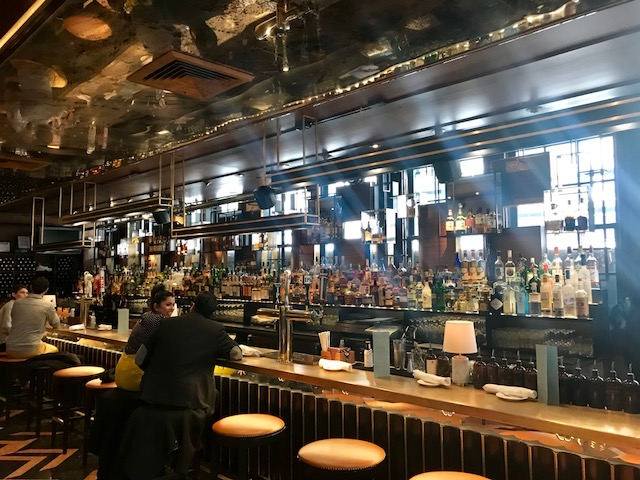 bar, stone street, downtown