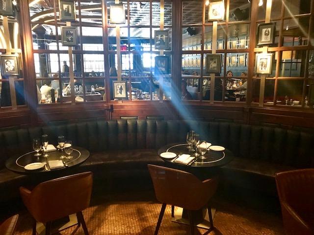 wall street, bar, dining, steak
