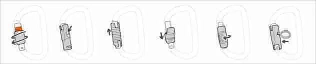 Bloccaggi connettore - figura 8