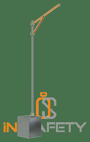 anticaduta baie di carico - autoportante con zavorra
