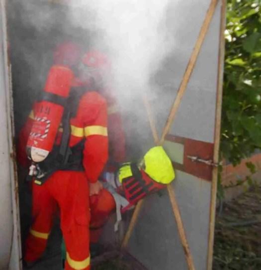 spazi confinati - addestramento al soccorso e recupero da ambienti confinati